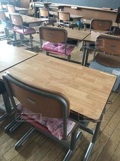 誰もいない教室の写真・画像素材[1454942]