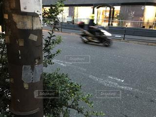夕暮れストリートの写真・画像素材[1455957]