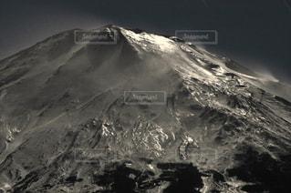 月下雪煙。の写真・画像素材[1461525]