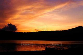 夕暮れ時。の写真・画像素材[1461526]