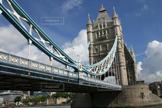 イギリスロンドンのタワーブリッジの写真・画像素材[1490490]