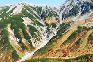 立山の鮮やかな紅葉の写真・画像素材[1605459]