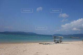 海開き前の静寂な石垣島フサキビーチの写真・画像素材[1829980]