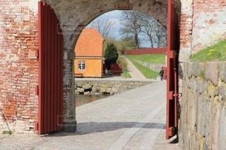 デンマーククロンボー城の風景の写真・画像素材[2645196]