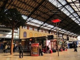 マルセイユ駅構内の風景の写真・画像素材[2666915]