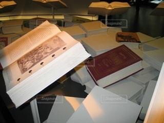 お洒落な蔵書の写真・画像素材[2769522]