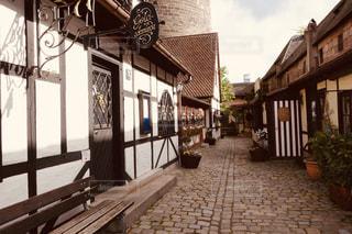 レトロなニュルンベルクの街並みの写真・画像素材[2871835]