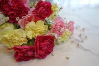 嬉しい花束のプレゼントの写真・画像素材[4207780]