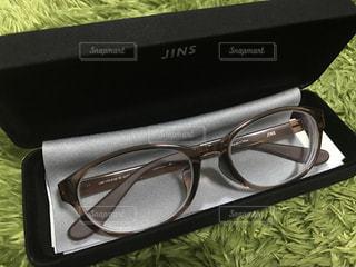 眼鏡を新調の写真・画像素材[1466902]