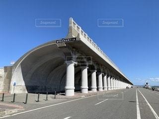 防波堤の写真・画像素材[2441170]