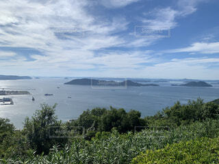 瀬戸の海と夏の写真・画像素材[4662134]