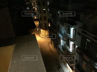 夜の街の景色の写真・画像素材[1458523]