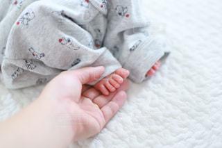 赤ちゃんの足の写真・画像素材[1610658]