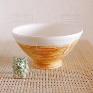 手作りお茶碗の写真・画像素材[1458704]