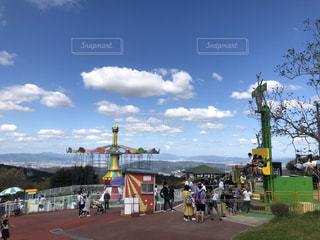 生駒山上遊園地の写真・画像素材[1520563]