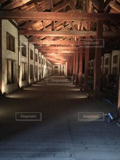 富岡製糸場の内部の写真・画像素材[1785039]
