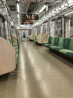 電車の中の写真・画像素材[1464835]