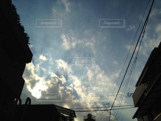 雲の隙間の写真・画像素材[1466213]