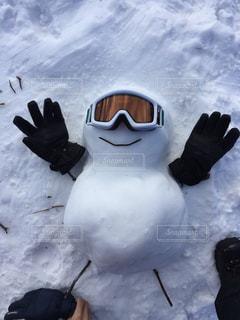 雪の山の写真・画像素材[1465823]