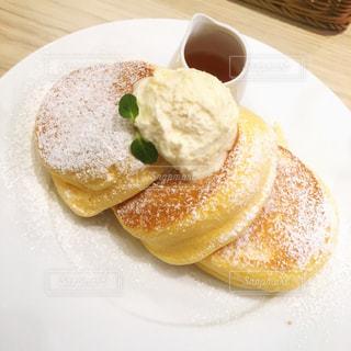 幸せのパンケーキの写真・画像素材[1467679]
