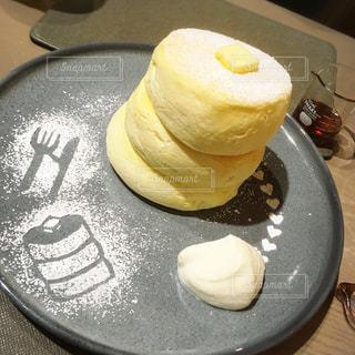 ミカサデコアンドカフェのパンケーキの写真・画像素材[1467753]