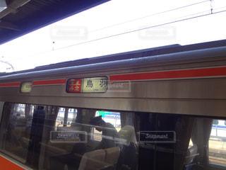 電車の行先の写真・画像素材[1581589]