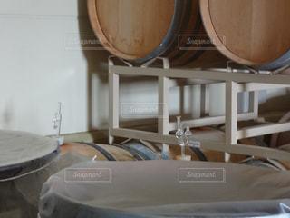 ワイン樽の写真・画像素材[1585916]
