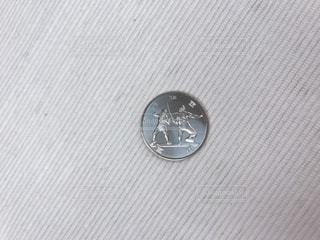 フェンシングの記念硬貨の写真・画像素材[1647881]