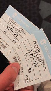 映画チケットの写真・画像素材[1485145]