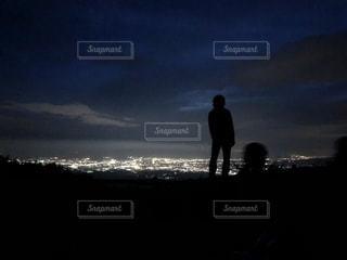 箱根の夜景の写真・画像素材[1528122]