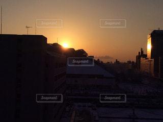 ある日の朝日の写真・画像素材[1480515]