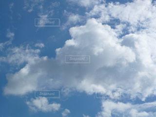 秋の雲の写真・画像素材[1492901]