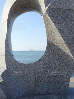 高松港のオブジェにての写真・画像素材[1598313]