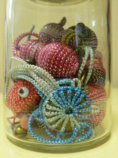 ガラス瓶の小物の写真・画像素材[1710729]