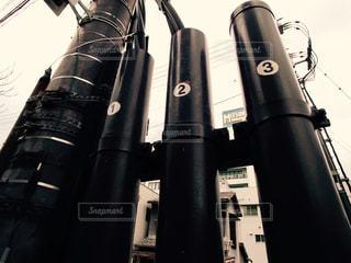 電線柱の写真・画像素材[2000040]