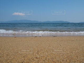瀬戸内海の砂浜の写真・画像素材[3159023]