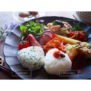 野菜たっぷりワンプレートの写真・画像素材[1469247]