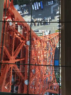 東京タワー ガラス床の写真・画像素材[3327796]
