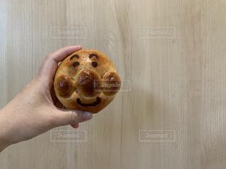 手捏ねパンの写真・画像素材[3659307]