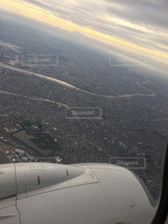 飛行機のビューの写真・画像素材[1484991]
