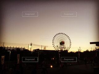 日本グランプリ決勝後の鈴鹿。また来年。の写真・画像素材[1469831]