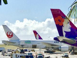 ハワイのダニエル・K・イノウエ国際空港の写真・画像素材[1525804]