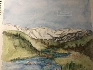 地元の川の写真・画像素材[1471754]