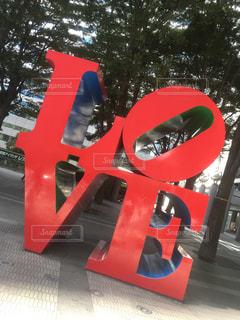 LOVEオブジェの写真・画像素材[1470613]