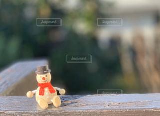 可愛いスノーマンの写真・画像素材[3019557]