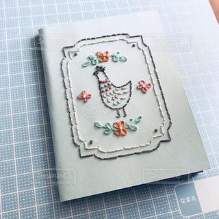紙刺繍の写真・画像素材[1472597]