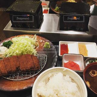 日本橋で食した牛カツ!の写真・画像素材[1479761]