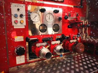消防車 部分の写真・画像素材[1555961]