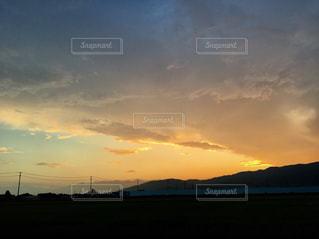 夕焼けの写真・画像素材[1471009]