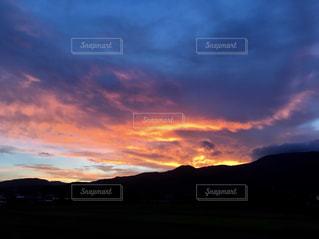 夕暮れの空の写真・画像素材[1471040]